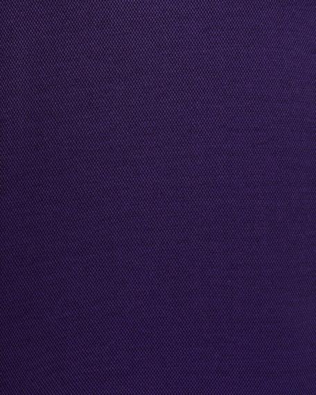 Canali Men's Mercerized Interlock Polo Shirt
