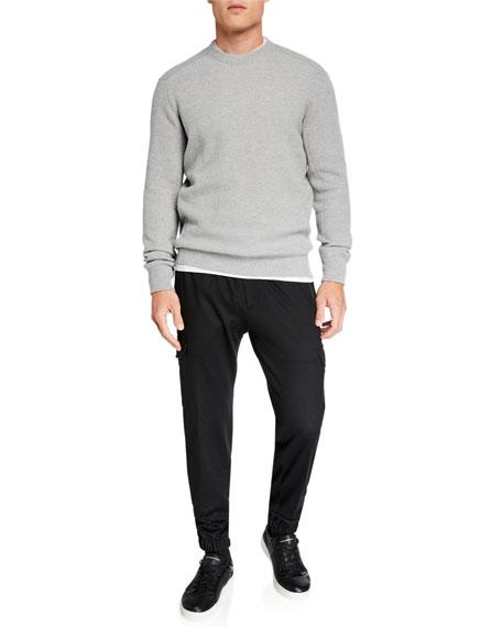 Ermenegildo Zegna Men's Wool Cargo Jogger Pants