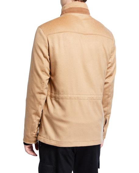 Ermenegildo Zegna Men's Cashmere Hooded Coat