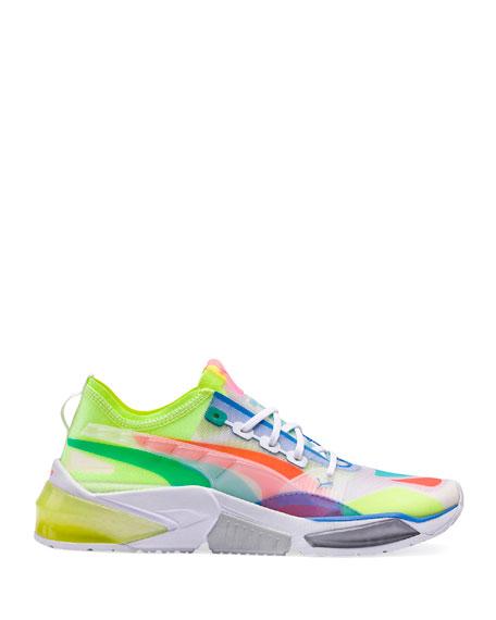 Puma Men's LQDCELL Multicolor Nylon Sneakers