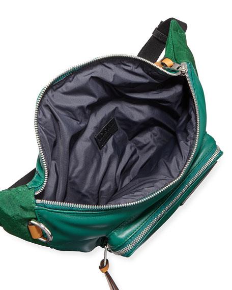 Loewe Men's Puffy Colorblock Lamb Leather Belt Bag/Fanny Pack