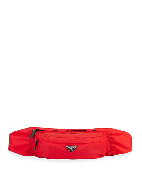 Prada Men's Nylon Belt Bag/Fanny Pack