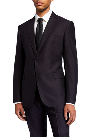Emporio Armani Men's M Line Virgin Wool Two-Piece Suit