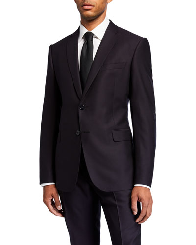 Men's M Line Virgin Wool Two-Piece Suit