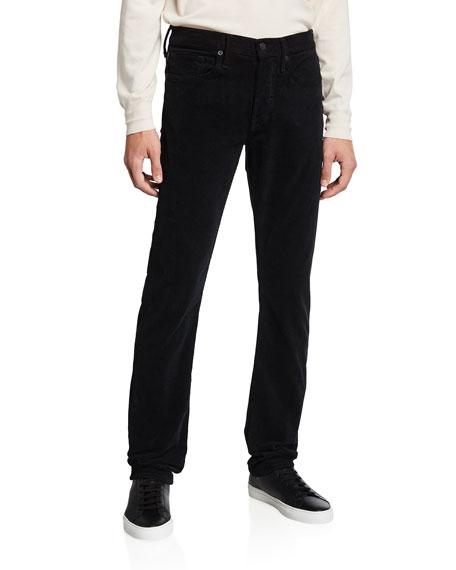 TOM FORD Men's Straight-Leg Corduroy Stretch Pants