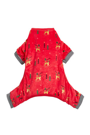 PJ Salvage Oh Deer Dog PJs