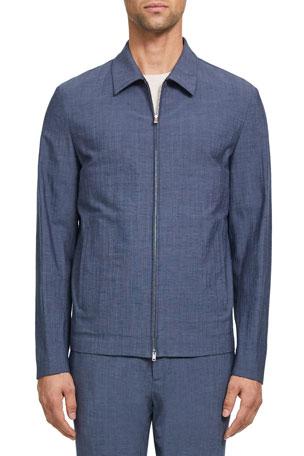 Theory Men's Zerega Delor Zip-Front Jacket $445.00