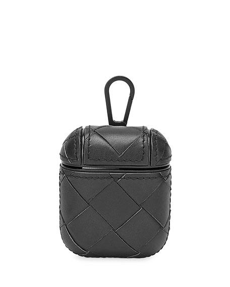Bottega Veneta Cases Men's Leather AirPod Case