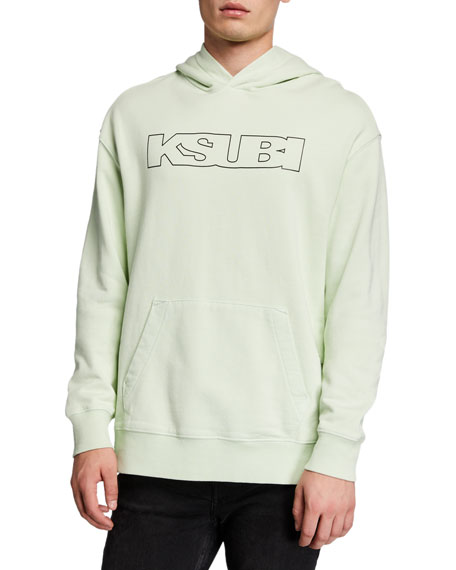 Ksubi Men's Signs of the Times Pullover Hoodie