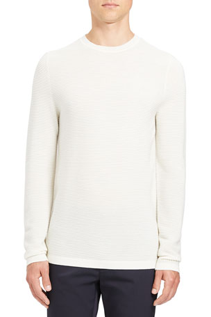 Theory Men's Grego Merino Wool Sweater