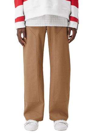 Burberry Men's Workwear Twill Pants
