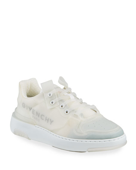 Wing PVC Low-Top Logo Sneakers
