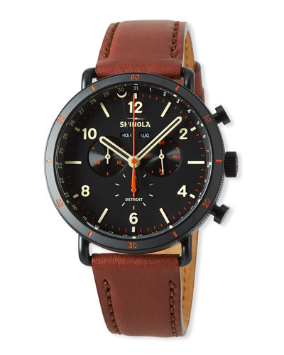 Shinola Men's 45mm Canfield Sport Chrono Gift Set