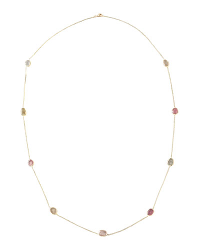 Yvel By-The-Yard Multi-Stone Necklace