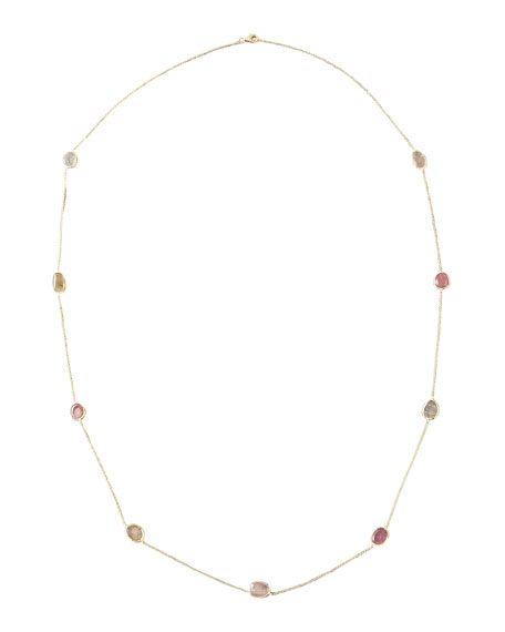 By-The-Yard Multi-Stone Necklace