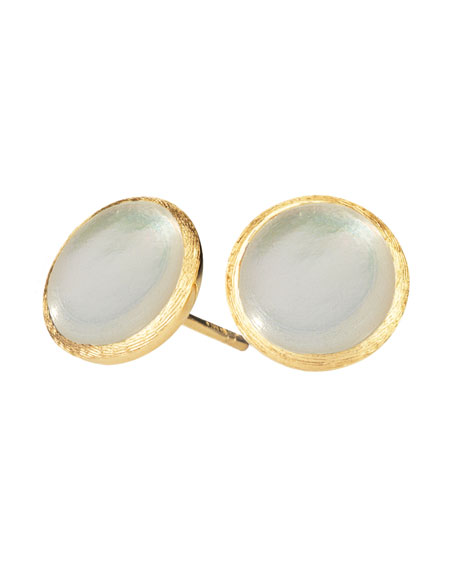 Marco Bicego Jaipur Mother-of-Pearl Stud Earrings