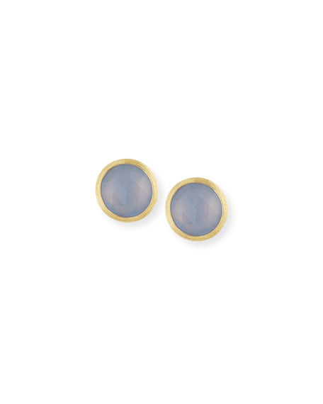 Marco Bicego Siviglia Faceted Chalcedony Stud Earrings