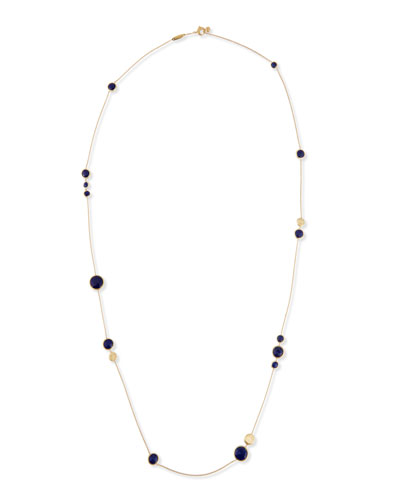 Jaipur Lapis Layered Necklace, 36