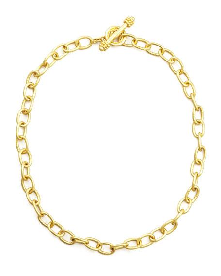 Elizabeth Locke Volterra 19K Gold Link Bracelet NRaPq