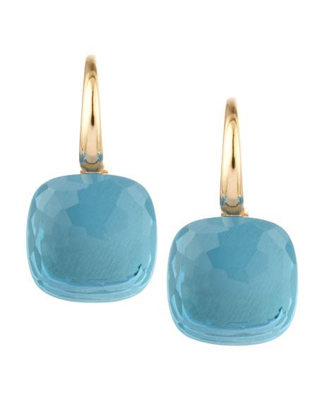 Nudo 18k Blue Topaz Earrings