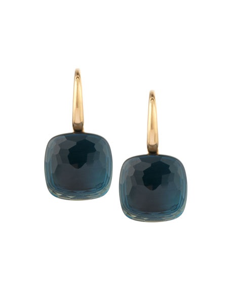 Image 1 of 2: Pomellato Nudo 18k London Blue Topaz Earrings