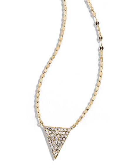 14k Fatale Diamond Spike Charm Necklace