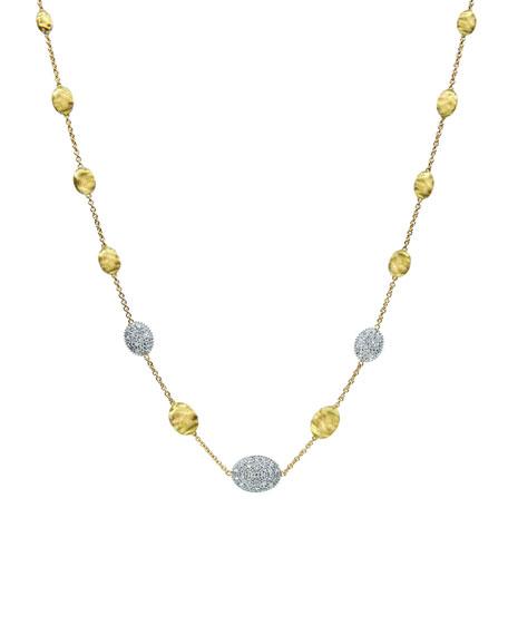 """Siviglia Diamond Station Necklace, 18""""L"""