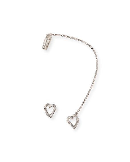 Three-Band Diamond Ear Cuff