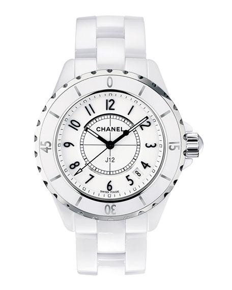 CHANEL J12 33mm White Ceramic Watch
