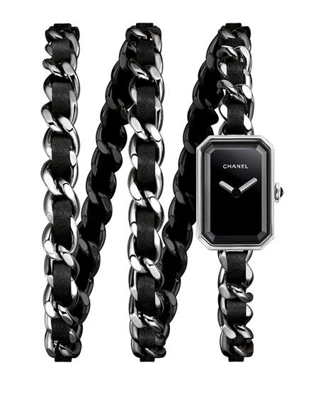 CHANEL PREMIÈRE Rock Steel Triple Wrap Watch