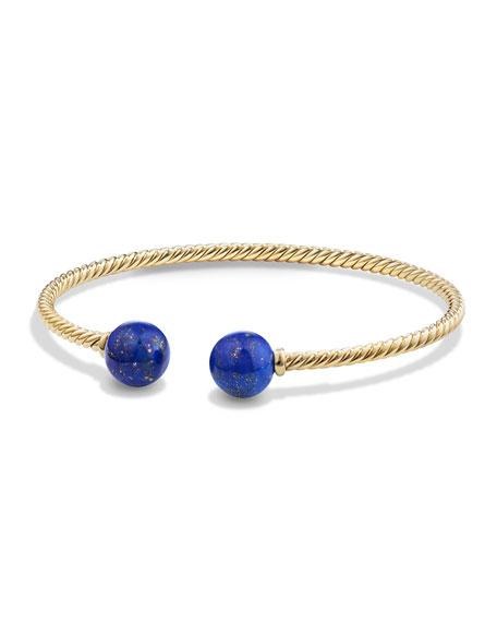 Solari 18K Gold & Lapis Cuff Bracelet