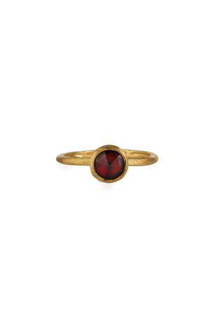 Marco Bicego Jaipur Garnet Stackable Ring, Size 7