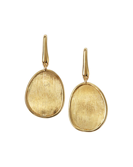 Image 1 of 2: Marco Bicego Lunaria 18k Gold Drop Earrings