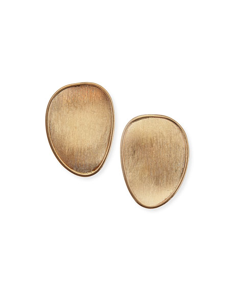 Marco Bicego Lunaria 18k Gold Stud Earrings