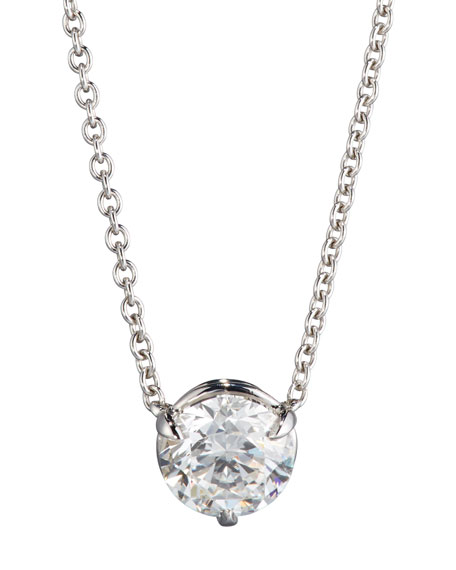 NM Diamond Collection 18K White Gold Round Diamond