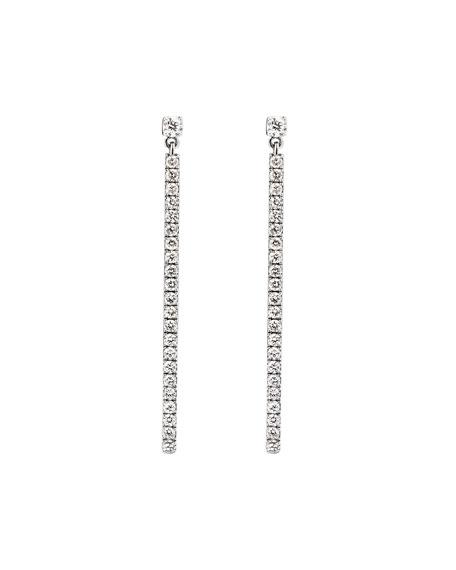 Messika Gatsby Barrette Linear Diamond Pendant Earrings