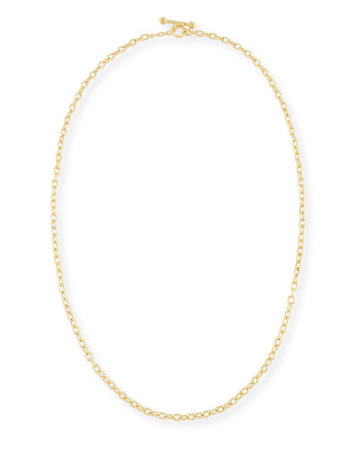 Orvieto Chain Link Necklace, 31