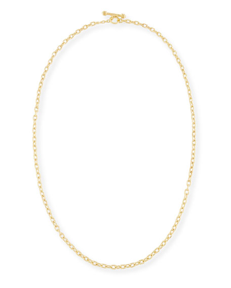 Elizabeth Locke Orvieto Chain Link Necklace, 31