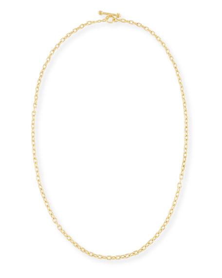Elizabeth Locke Orvieto Chain Link Necklace, 31