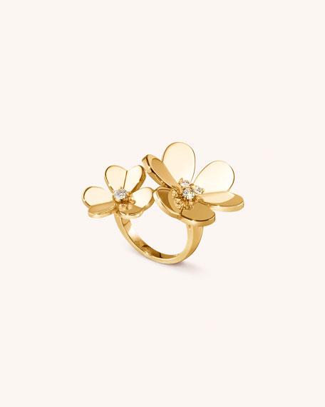 Van Cleef & Arpels Frivole Between-the-Finger Ring