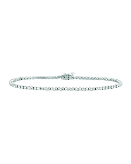 NM Diamond Collection Diamond Tennis Bracelet in 18K