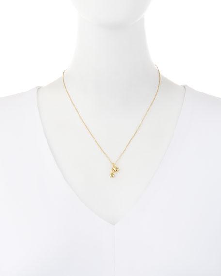 Forevermark 18K Yellow Gold Four-Diamond Pendant Necklace