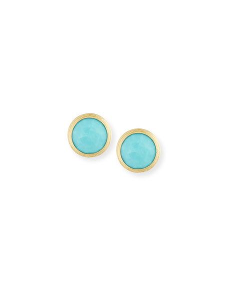 Marco Bicego Jaipur Turquoise Stud Earrings