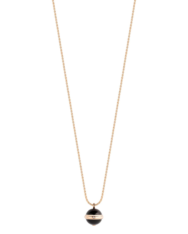 Piaget Possession Black Onyx Amp Diamond Pendant Necklace