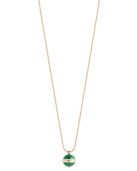 PIAGET Possession Malachite Cabochon Pendant Necklace