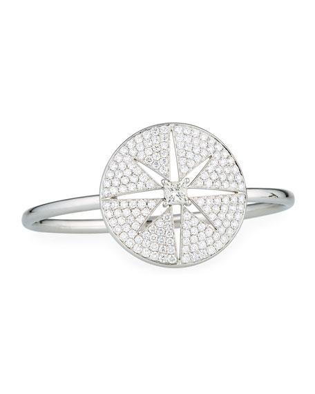 Maria Canale Princess-Cut Diamond Cutout Star Bracelet