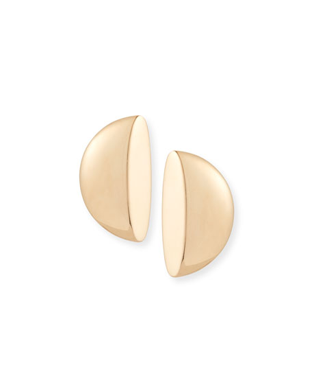 Eclisse 18K Rose Gold Clip-On Earrings