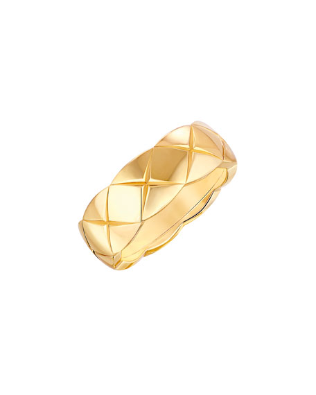 COCO CRUSH RING IN 18K YELLOW GOLD, SMALL VERSION