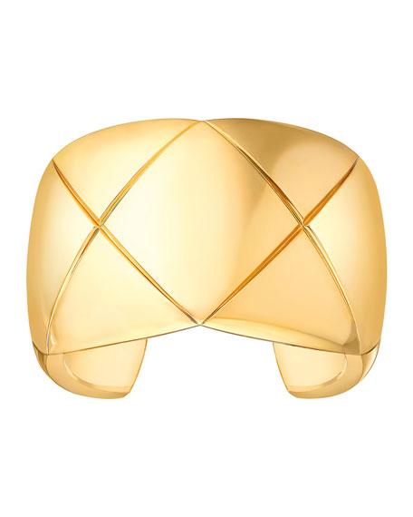 COCO CRUSH CUFF IN 18K YELLOW GOLD