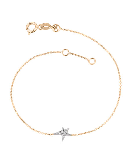 Kismet by Milka Struck Star 14k Diamond Bracelet